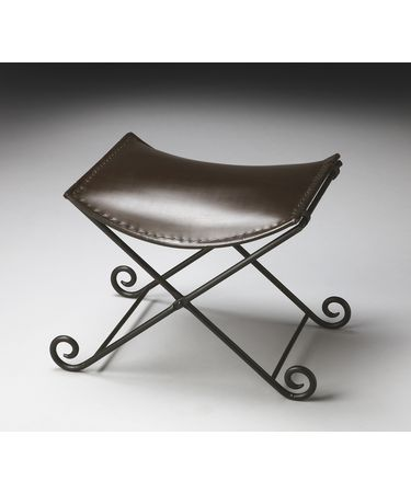Shown in Iron And Leather finish