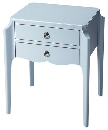 Shown in Glossy Wedgewood finish