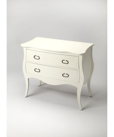 Shown in White finish