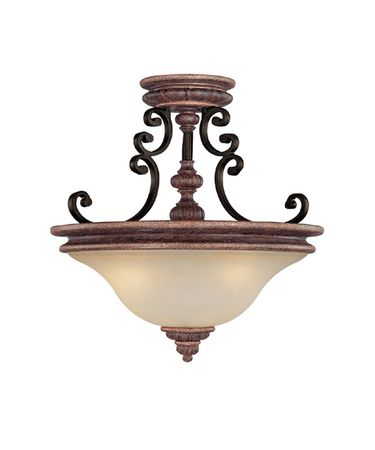 Shown in Iron and Umber finish