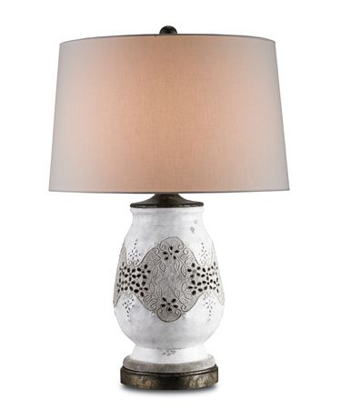 Shown in Antique White Crackle-Pyrite Bronze finish
