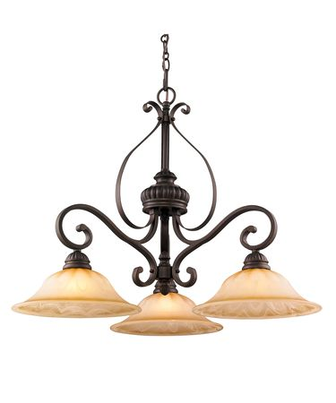 Golden Lighting 7116-ND3 Mayfair 31 Inch Large Pendant