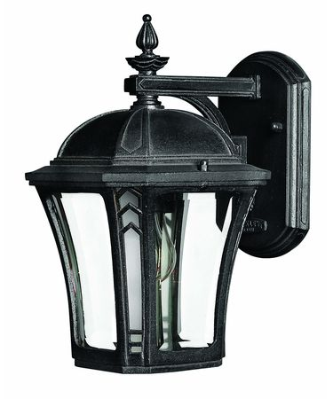 Shown in Museum Black finish and Clear Beveled glass
