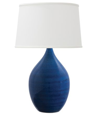 Shown in Blue Gloss finish and Linen Hardback shade