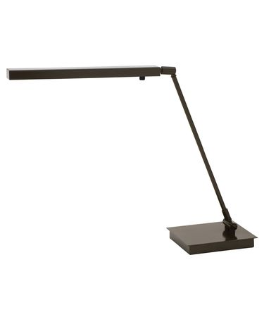 Shown in Architectural Bronze finish and Metal shade