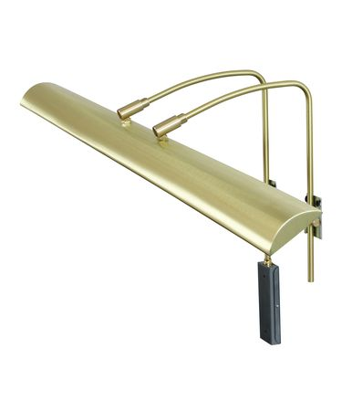 Shown in Satin Brass finish and Metal shade