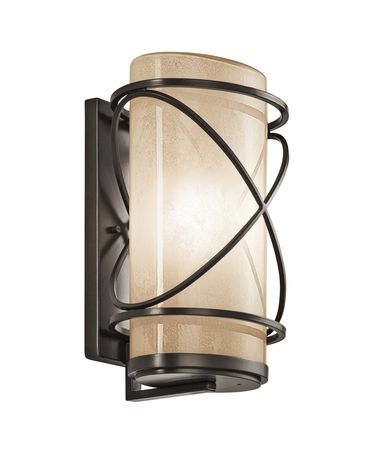 Vetro Glass Wall Lights : Kichler 49358 Trafari 1 Light Outdoor Wall Light Capitol Lighting 1-800lighting.com