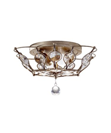 Shown in Burnished Silver finish and Clear glass