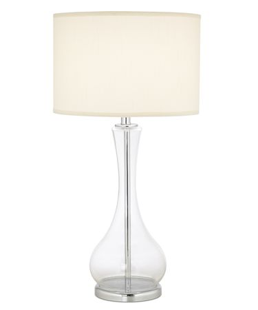 Shown in Clear finish and Drum-White-Linen shade