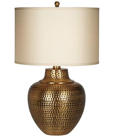 Shown in Antique Bronze finish and Linen shade