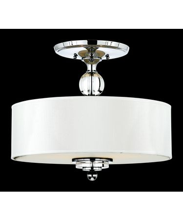 Quoizel DW1717 Downtown 17 Inch Semi Flush Mount
