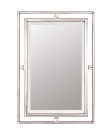 Quoizel Downtown Rectangular Wall Mirror