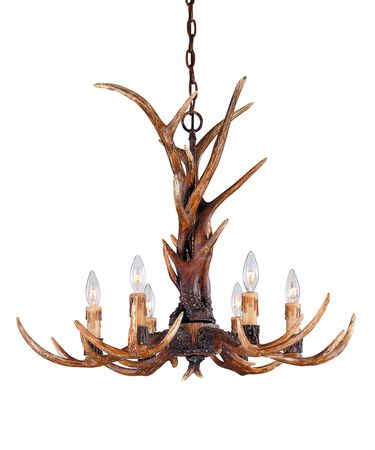 Savoy House 1-40017-6-56 Blue Ridge 29 Inch Chandelier