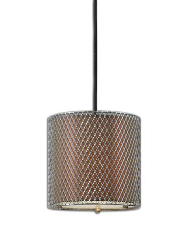 Shown in Polished Nickel Accented with A Taupe Bronze Inner Hardback Shade finish