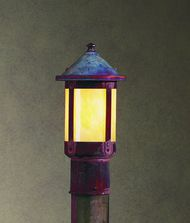 Arroyo Craftsman BP-8 Berkeley 1 Light Outdoor Post Lamp