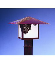 Arroyo Craftsman MP-12 Monterey 1 Light Outdoor Post Lamp