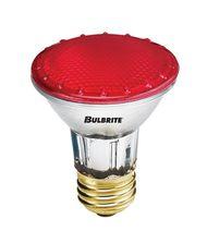 Bulbrite H50PAR20R 50 Watt 120 Volt Red PAR20 Halogen Bulb