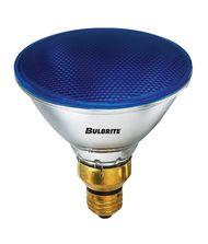 Bulbrite H90PAR38B 90 Watt 120 Volt Blue PAR38 Halogen Bulb