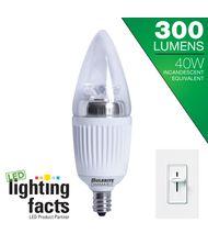 Bulbrite LED5CTC-27K-D 5 Watt 2700K Clear B11