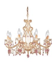 Crystorama 4509 Paris Flea Market 27 Inch Chandelier
