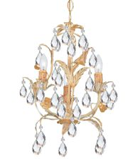 Crystorama 4903 Athena 13 Inch Mini Chandelier