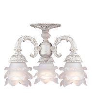 Crystorama 5223 Avignon 13 Inch Semi Flush Mount