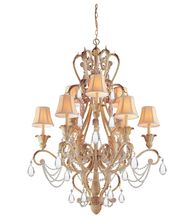 Crystorama 6709 Winslow 38 Inch Chandelier