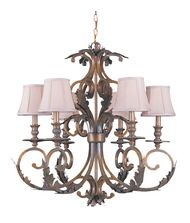 Crystorama 6916 Royal 30 Inch Chandelier