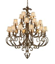 Crystorama 6917 Royal 52 Inch Chandelier