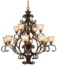 Crystorama 7412 Cameo 12 Inch Chandelier