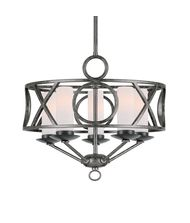Crystorama 9445 Odette 17 Inch Mini Chandelier