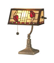 Dale Tiffany TA11010 Henderson Bankers 14 Inch Piano Lamp