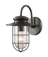 ELK Lighting 42284-1 Portside 1 Light Outdoor Wall Light