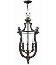 Hinkley Lighting 4254 Plymouth 18 Inch Foyer Pendant