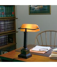 House of Troy DSK430 Shelburne 14 Inch Desk Lamp