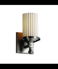 Justice Design Group POR-8531 Limoges Deco 6 Inch Wall Sconce