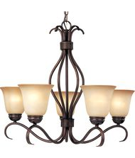 Maxim Lighting 10125 Basix 26 Inch Chandelier