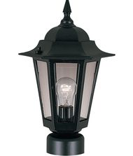 Maxim Lighting Builder Cast 1 Light Outdoor Post Lamp