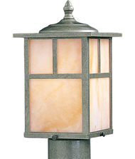 Maxim Lighting 4055 Craftsman 1 Light Outdoor Post Lamp