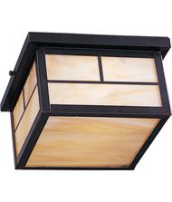 Maxim Lighting Craftsman 2 Light Outdoor Flush Mount