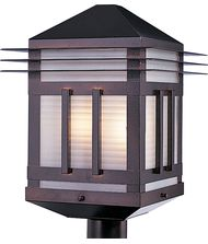 Maxim Lighting 8725 Gatsby 2 Light Outdoor Post Lamp