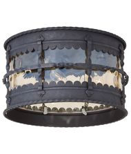 Minka Lavery Mallorca 3 Light Outdoor Flush Mount