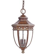 Minka Lavery 9234 Castle Ridge 3 Light Outdoor Hanging Lantern