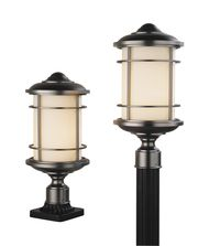 Murray Feiss Lighthouse 1 Light Outdoor Post Lamp