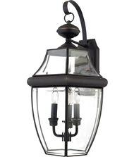 Quoizel NY8318 Newbury 3 Light Outdoor Wall Light