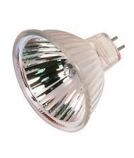 Satco S2625 50 Watt 12 Volt MR16 Bi Pin Hard Coated Dichroic Reflector Halogen Bulb