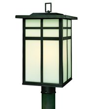 Thomas Lighting SL9006 Mission 3 Light Outdoor Post Lamp