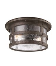 Troy Lighting Barbosa 2 Light Outdoor Flush Mount