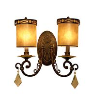 Vanilla Ice Lighting 86WB2BZ Bliss 13 Inch Wall Sconce